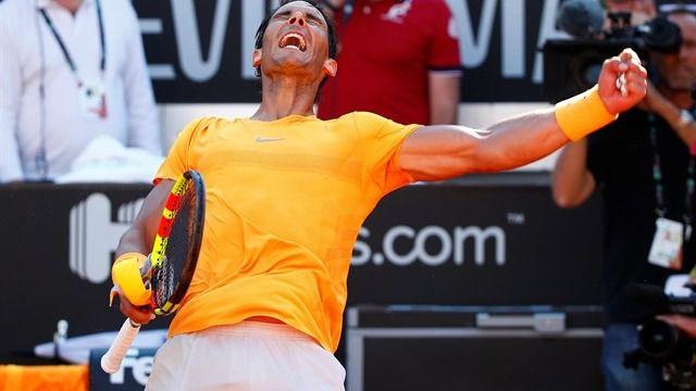 Nadal sigue al frente del ranking ATP, seguido por Federer y Zverev
