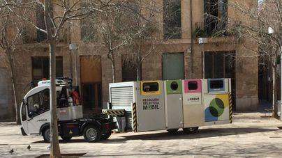 La retirada selectiva de residuos en Palma creció el 23,7 por ciento hasta junio