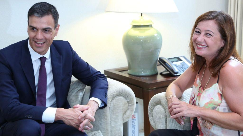Armengol se reúne con Sánchez con los 380 millones negociados con Montoro en el aire