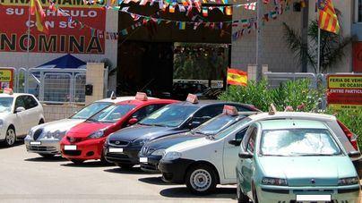 Desciende un 2 por ciento la venta de vehículos de ocasión en Balears