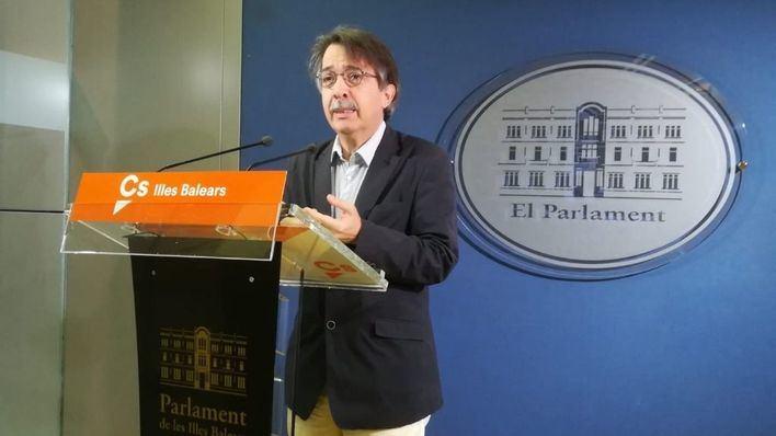 Xavier Pericay, líder de Cs en Balears
