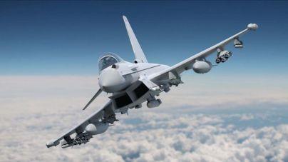 Defensa investiga el disparo accidental de un misil desde un Eurofighter