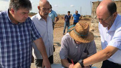 Aprueban la cesión de terrenos para ampliar y reformar la depuradora de sa Pobla