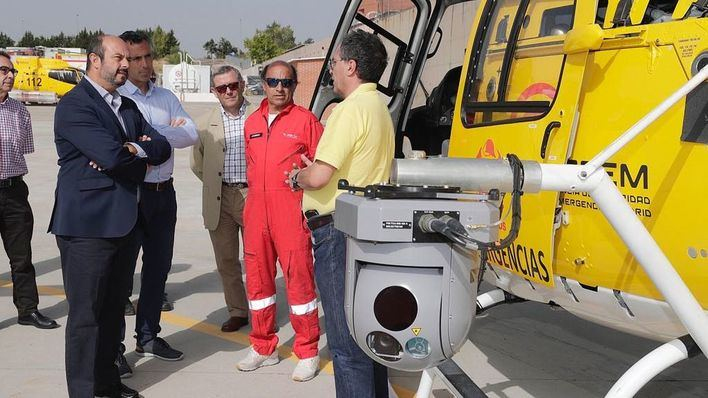 Emergencias de Madrid compra tecnología mallorquina para hallar personas atrapadas en incendios