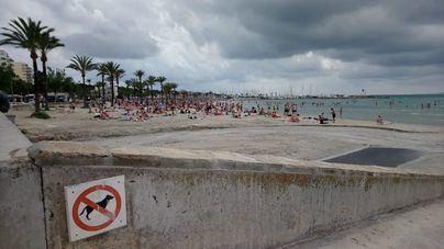 Nubes y posibilidad de tormentas en el norte de Mallorca