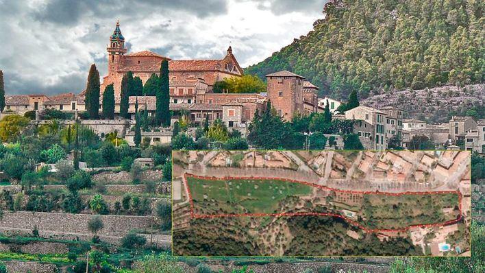 ARCA advierte que el terreno de la nueva urbanización de Valldemossa forma parte de la Cartoixa