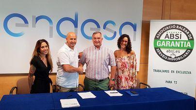 Endesa firma un convenio de colaboración con ABSI