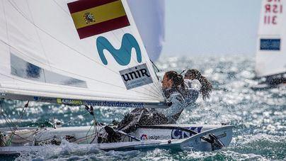 Mas/Cantero, plata en 470; Xammar/Rodríguez, bronce en masculino