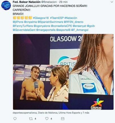 El mallorquín Joan Lluís Pons, bronce en el Europeo de natación
