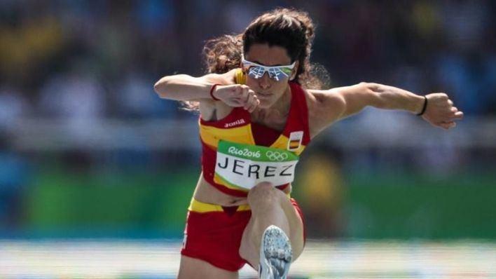Caridad Jerez tropieza en las semifinales de 100 metros vallas