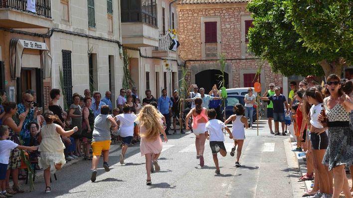Santanyí despide las Fiestas de San Domingo de Guzmán desde Llombards