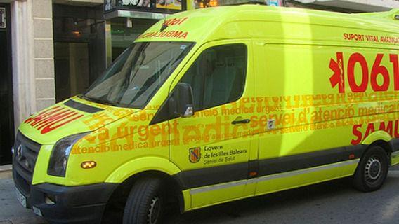 Muere un motorista en un choque múltiple en Formentera