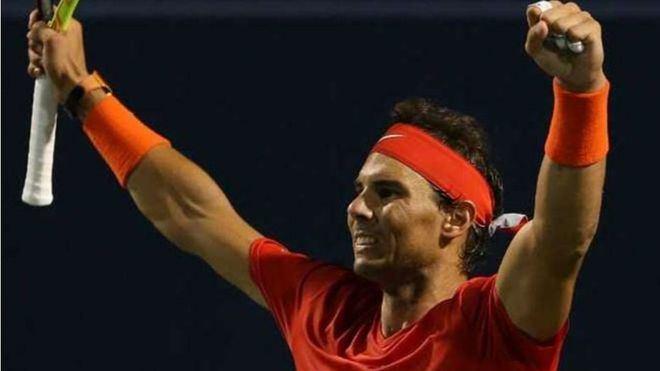 Nadal vence a Khachanov y pasa a la final en Toronto
