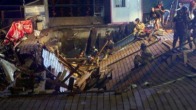 Ascienden a más de 300 los heridos por el desplome en Vigo