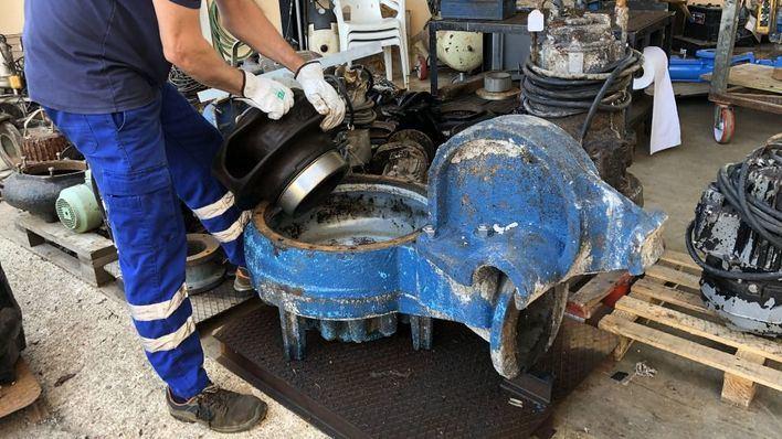 Calvià bombea 28 millones de litros diarios de aguas residuales a depuradoras
