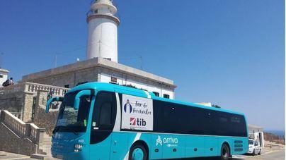 12.000 personas utilizaron el bus de Formentor en julio y 98.000 viajaron en líneas Aerotib en mayo
