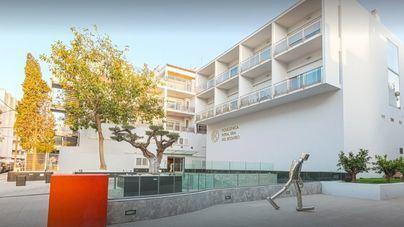 Un motorista de 32 años herido en un accidente en Ibiza
