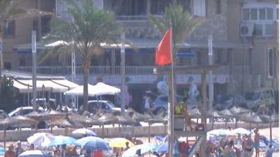 Vuelven a cerrar las playas de Can Pere Antoni y Ciutat Jardí por vertido de fecales