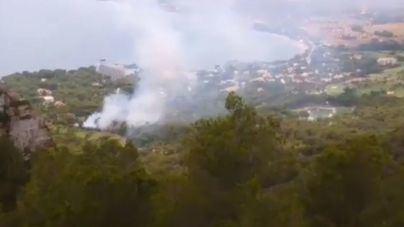 Los últimos cinco incendios de Mallorca han sido causados por relámpagos