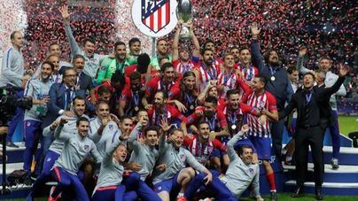 El Atleti destrona al Madrid en la Supercopa