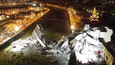 El número de fallecidos en el puente de Génova se rebaja a 38