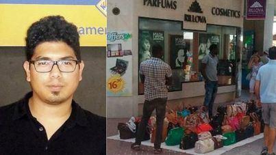 El concejal Aligi Molina llama 'racistas' a los comerciantes por criticar el top manta