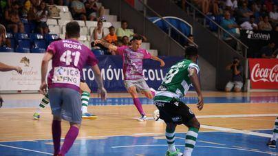 El Palma debuta con derrota frente al subcampeón de Europa