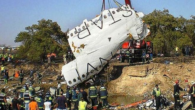 Este lunes se cumple el décimo aniversario del fatídico accidente de Spanair en Barajas