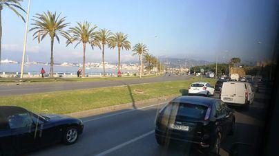 Nubes y probabilidad de algún chubasco por la tarde en el sur de Mallorca