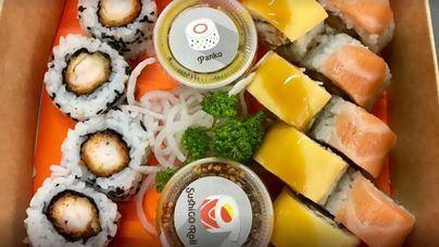 Picnic, sushi y playa, sinónimos de verano y felicidad