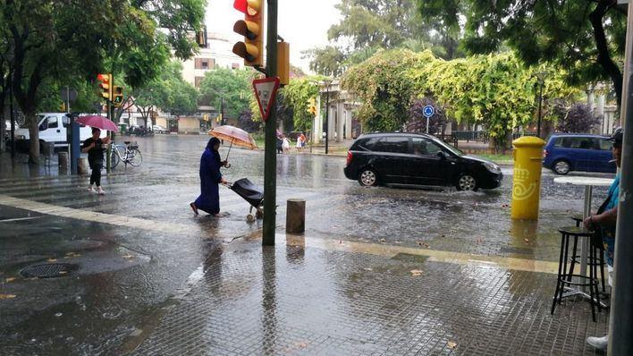Agosto deja datos de récord de precipitaciones en Balears