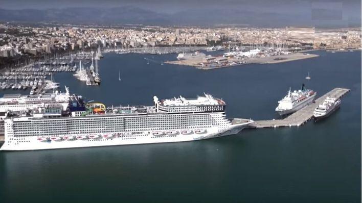 Récord 'histórico' en los puertos de Baleares con 8,1 millón de pasajeros y más mercancías