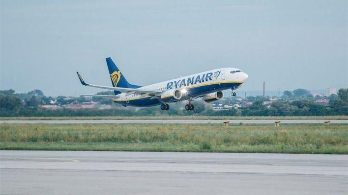 Ryanair cobrará entre seis y diez euros por el equipaje de mano a partir del 1 de noviembre