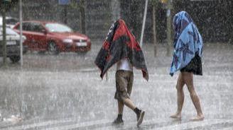 Chubascos y tormentas en las Balears y en el extremo norte peninsular