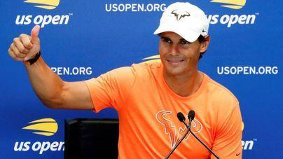 Nadal llega a Nueva York descansado y listo para tratar de repetir título
