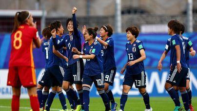 La España de Cata Coll y Patricia Guijarro cae ante un potente Japón por (1-3)