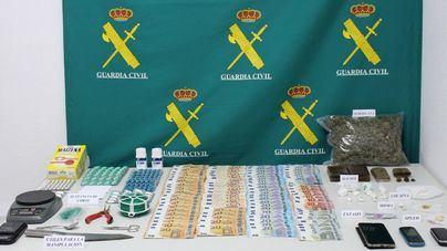 Desarticulado un punto de tráfico de drogas en Ferreries