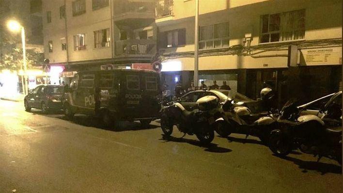Nuevo operativo antidroga con 100 personas identificadas en la Playa de Palma y calle Manacor