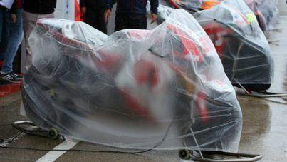 Cancelado el Gran Premio de Gran Bretaña por estar el asfalto anegado