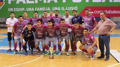 El Palma Futsal alcanza el ecuador de su preparación con tres triunfos