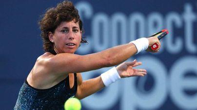 Carla Suárez asciende seis puestos en la clasificación mundial de tenis