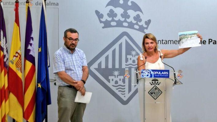 """Acusan al Govern y Cort de """"estafa"""": """"Con el engaño de la ecotasa se han invertido cero euros en Palma"""""""