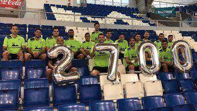 El Palma Futsal llega a los 2700 abonados en dos semanas