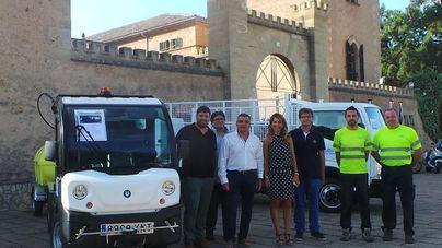 Andratx incorpora dos vehículos para reforzar el servicio de limpieza