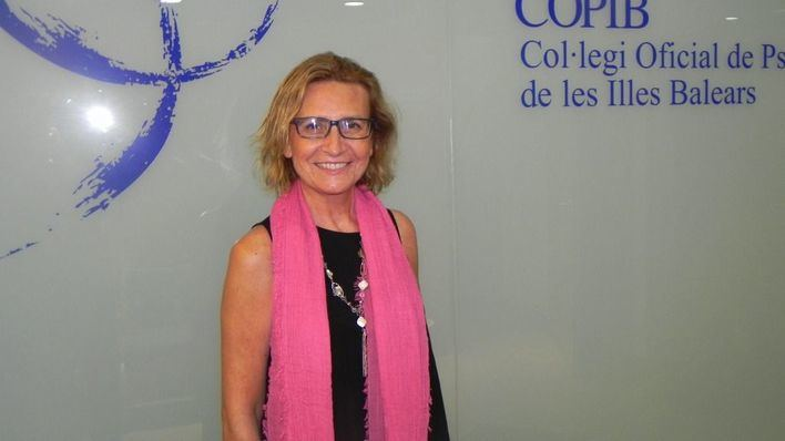 Coral Mínguez Artigues, Vocal de Psicología Jurídica del COPIB
