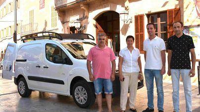 Santanyí estrena vehículo eléctrico para renovar la flota de transporte