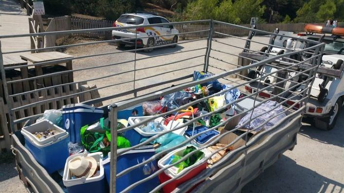 Interponen 230 denuncias contra la venta ambulante ilegal en playas de Balears