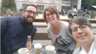 """Valtonyc, de turismo con la CUP en Bruselas para visitar a los """"exiliados políticos catalanes"""""""