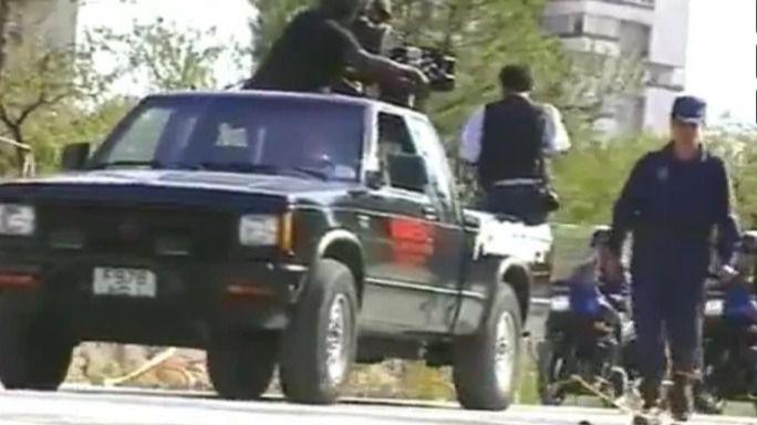 Imágenes inéditas de Michael Jackson en 1992 escoltado por la Policía Nacional