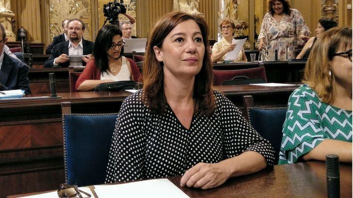 Armengol viaja a Madrid para tratar con el ministro Ábalos el presupuesto destinado al transporte